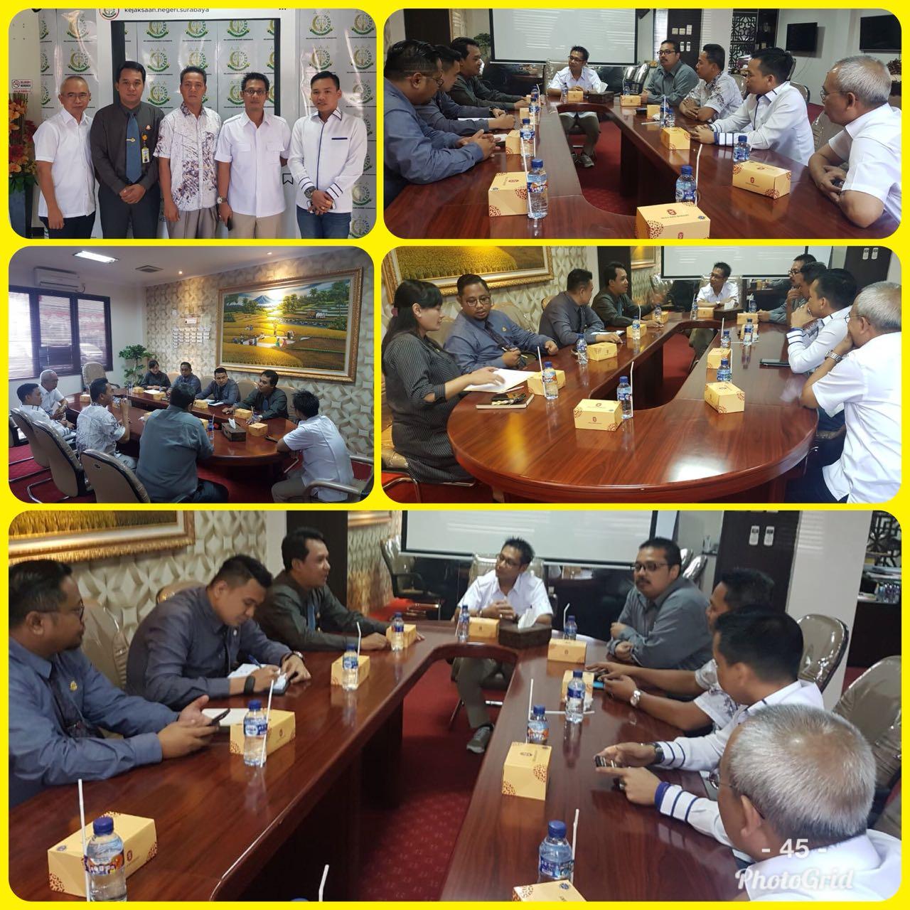 Kejaksaan Negeri Surabaya Terima Kunjungan DPRD Kabupaten Banyuasin 30-08-2018