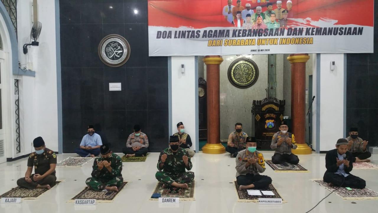 Doa Bersama Kebangsaan dan Kemanusiaan dari Surabaya untuk Indonesia 15-05-2020