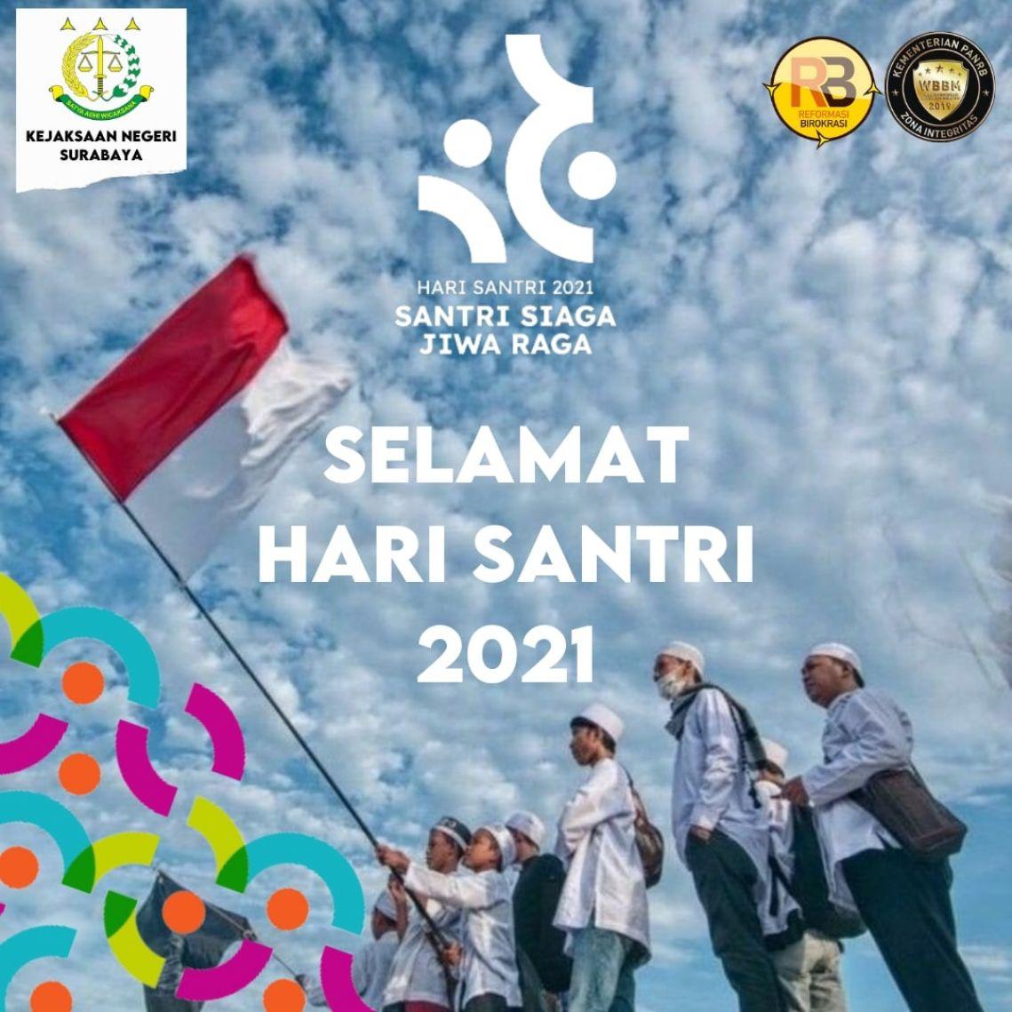 SELAMAT HARI SANTRI 2021