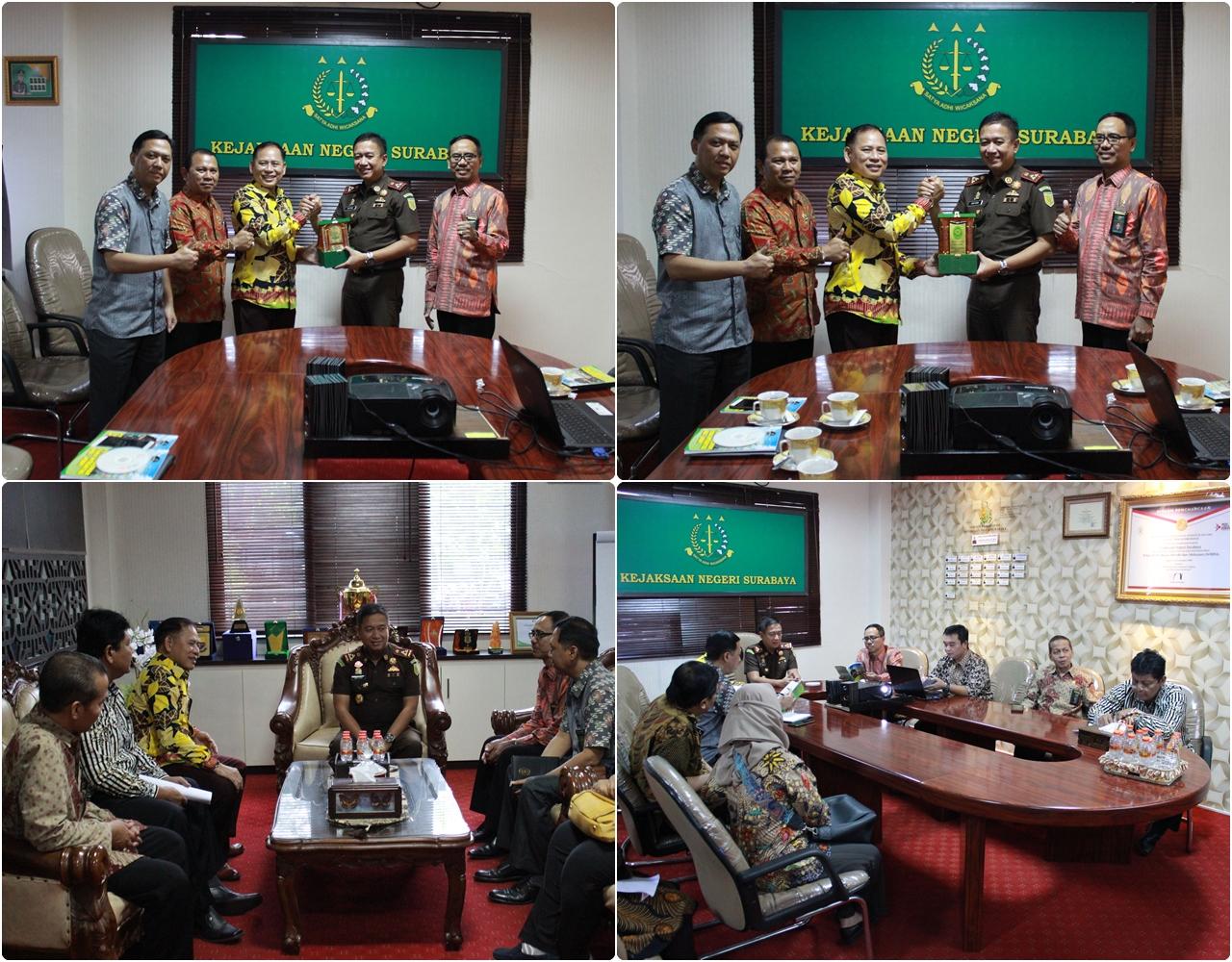 Kunjungan dari Pengadilan Agama Surabaya 06-03-2020